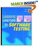 Lessons Learned in Software Testing A Context Driven Approach.